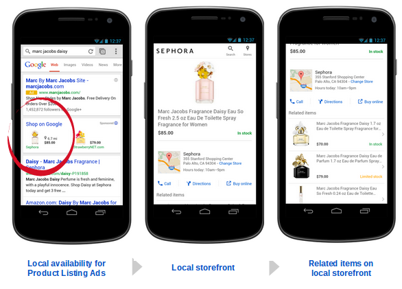 Mobile - Local Inventory Ad