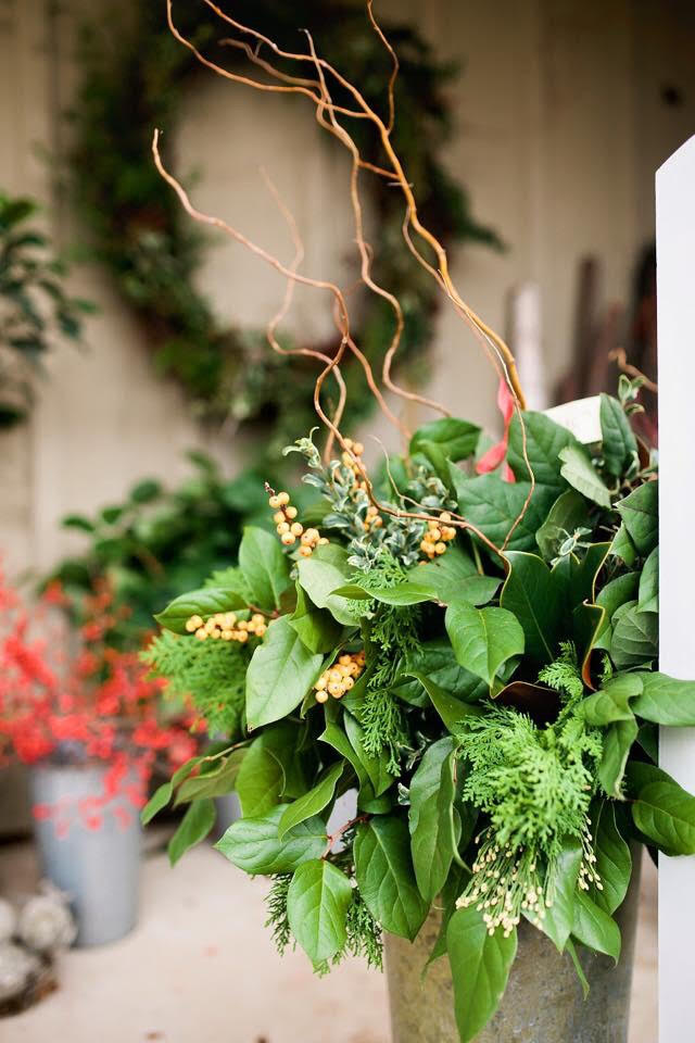front porch Holiday decor