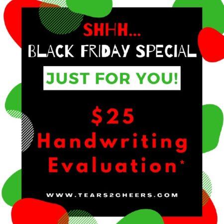 25 Handwriting Evaluation