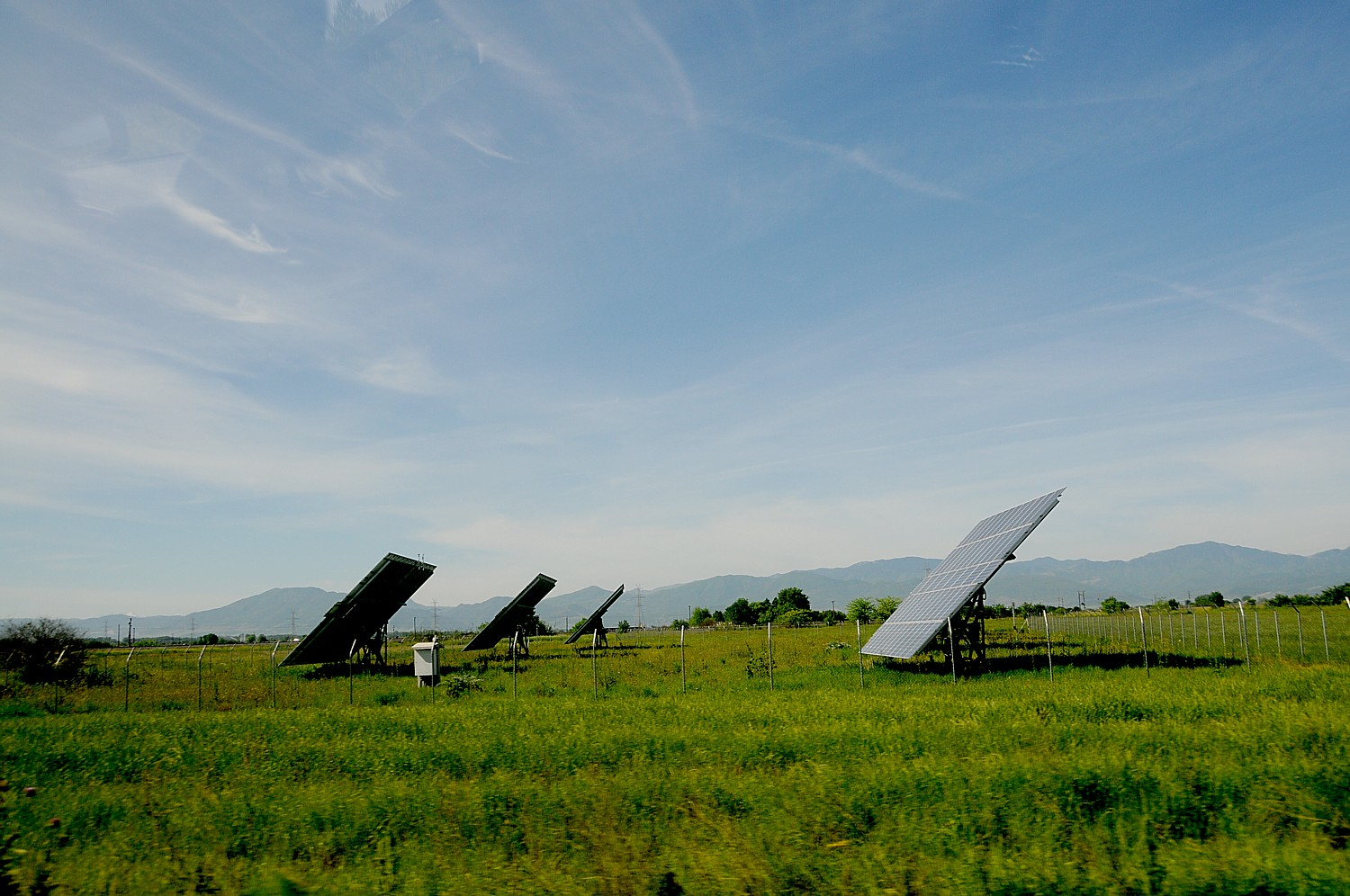 Solar farm in Greece © 2015 Karen Rubin/news-photos-features.com
