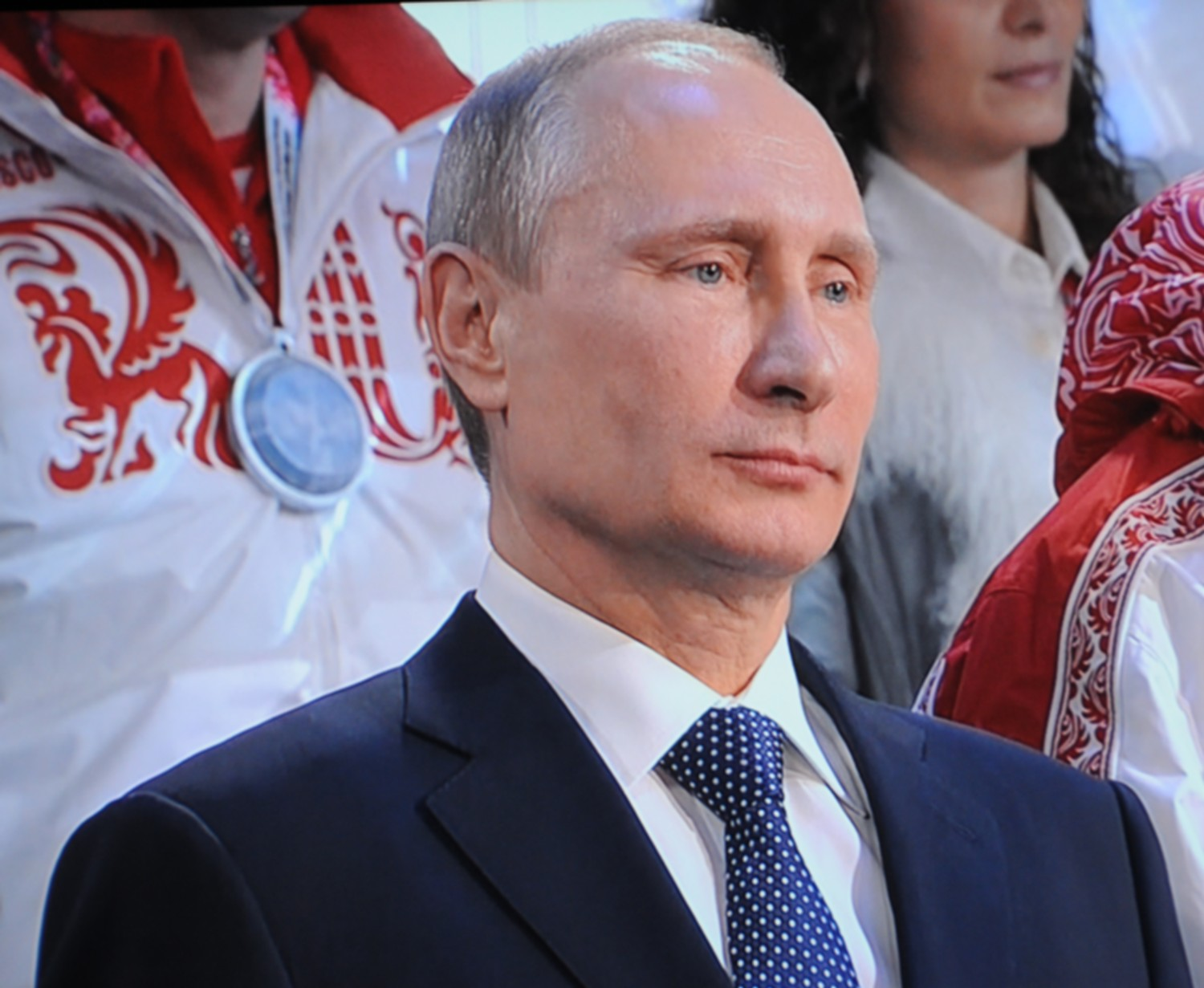 "Russian President Vladimir Putin, at the 2014 Olympics in Sochi. The US has evidence that Putin was directly involved in orchestrating cyber attacks and information dissemination intended to tilt the US election toward Donald Trump's victory. Trump has dismissed the unified analysis of more than a dozen US intelligence agencies and has indicated he would be a close ally of Putin or as Hillary Clinton put it during the campaign, ""Putin's Puppet.""© 2016 Karen Rubin/news-photos-features.com"
