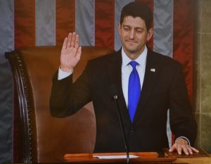 Speaker Paul Ryan (R-WI) administers oath to members of the 115th Congress © 2017 Karen Rubin/news-photos-features.com