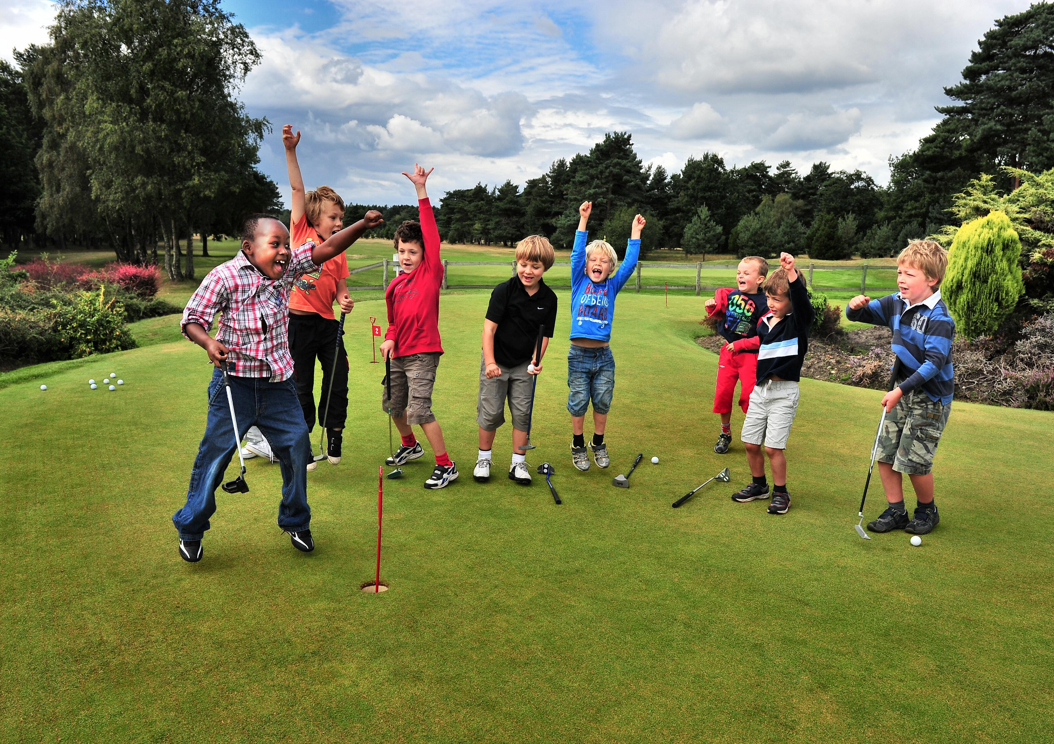 Labsters golf clinics