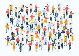 large population image