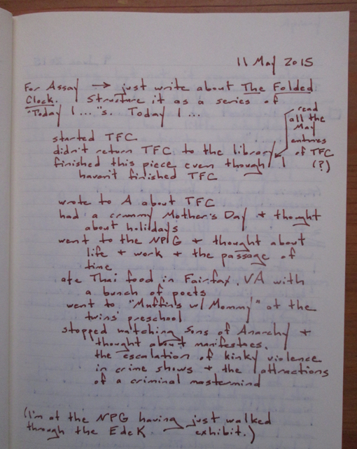 5_Writing notebook (on The Folded Clock) 9.57.15 AM