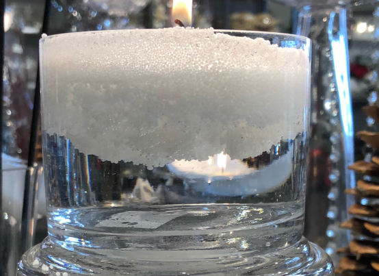 Candlesand in Water