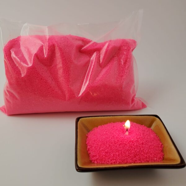 Granulated Wax Neon Pink