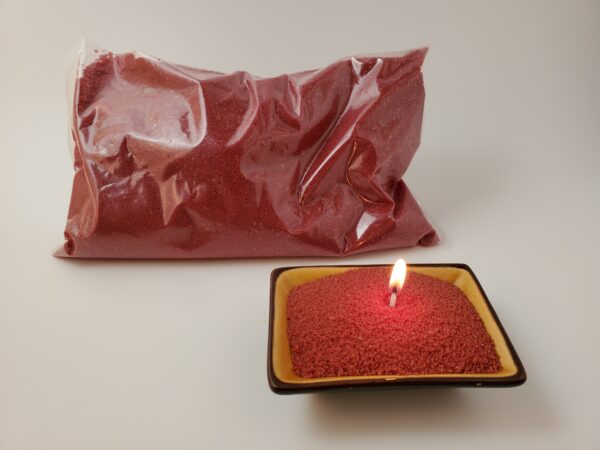 Granulated Wax Red