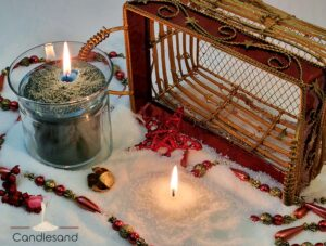 Sand Candle Basket