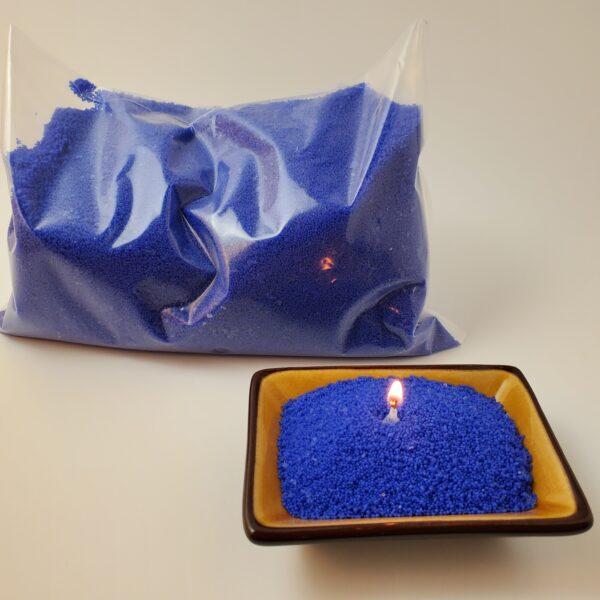 Granulated Wax Neon Blue