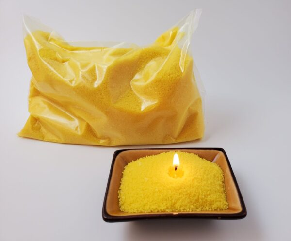 Granulated Wax Yellow