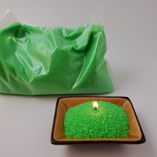 Granulated Wax Neon Green