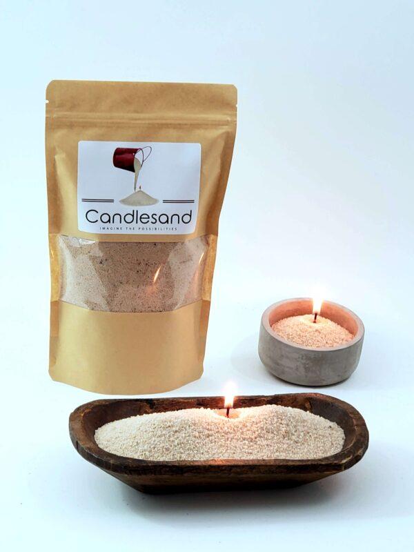 Beach Sand Candles
