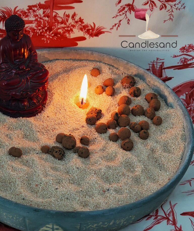 Zen Candle Garden