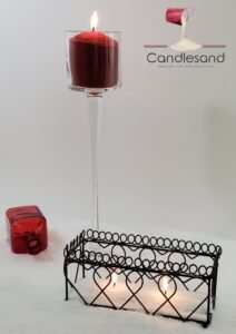 Holiday Sand Candles
