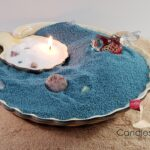 Sand Candle Store Front Display Fish Bowl Candle