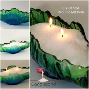 How to make a candle repurposed