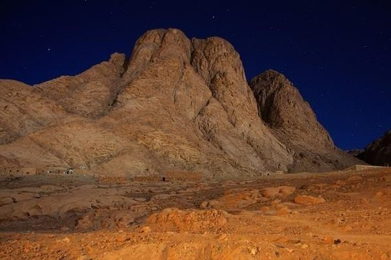 Mt Sinai in the Night