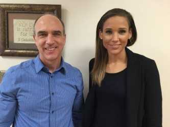 2015 with Lolo Jones at Inspire for Health Conference