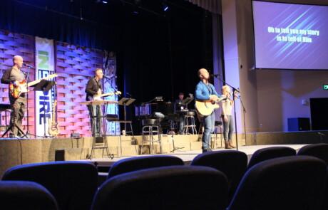 INSPIRE 2017 Band Playing Worship Set