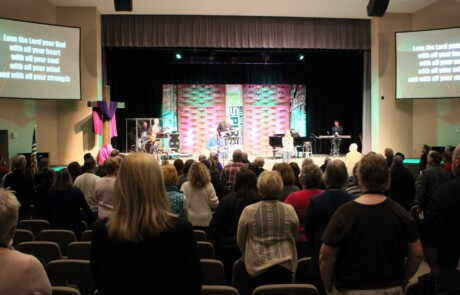 Worship at INSPIRE for Health Conference