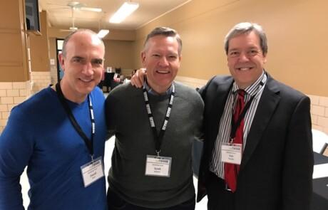 Scott, Van, and David Bush INSPIRE2017