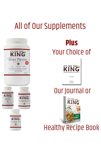Fit Kit - Fit for the King Supplements and Whey Protein
