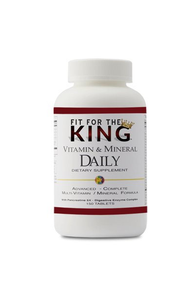 Fit for the King Vitamin and Mineral Supplement