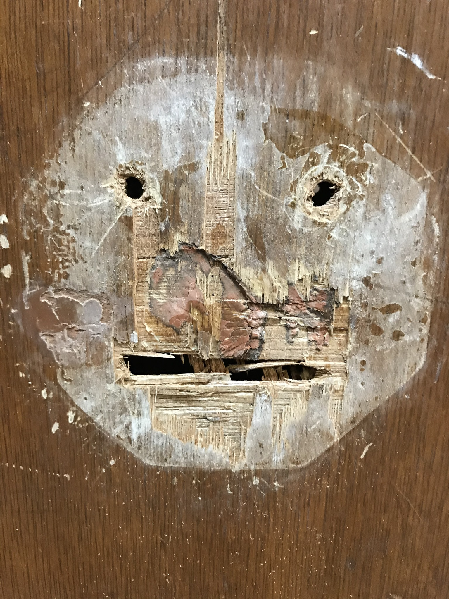 Damaged Door - Fit for the King