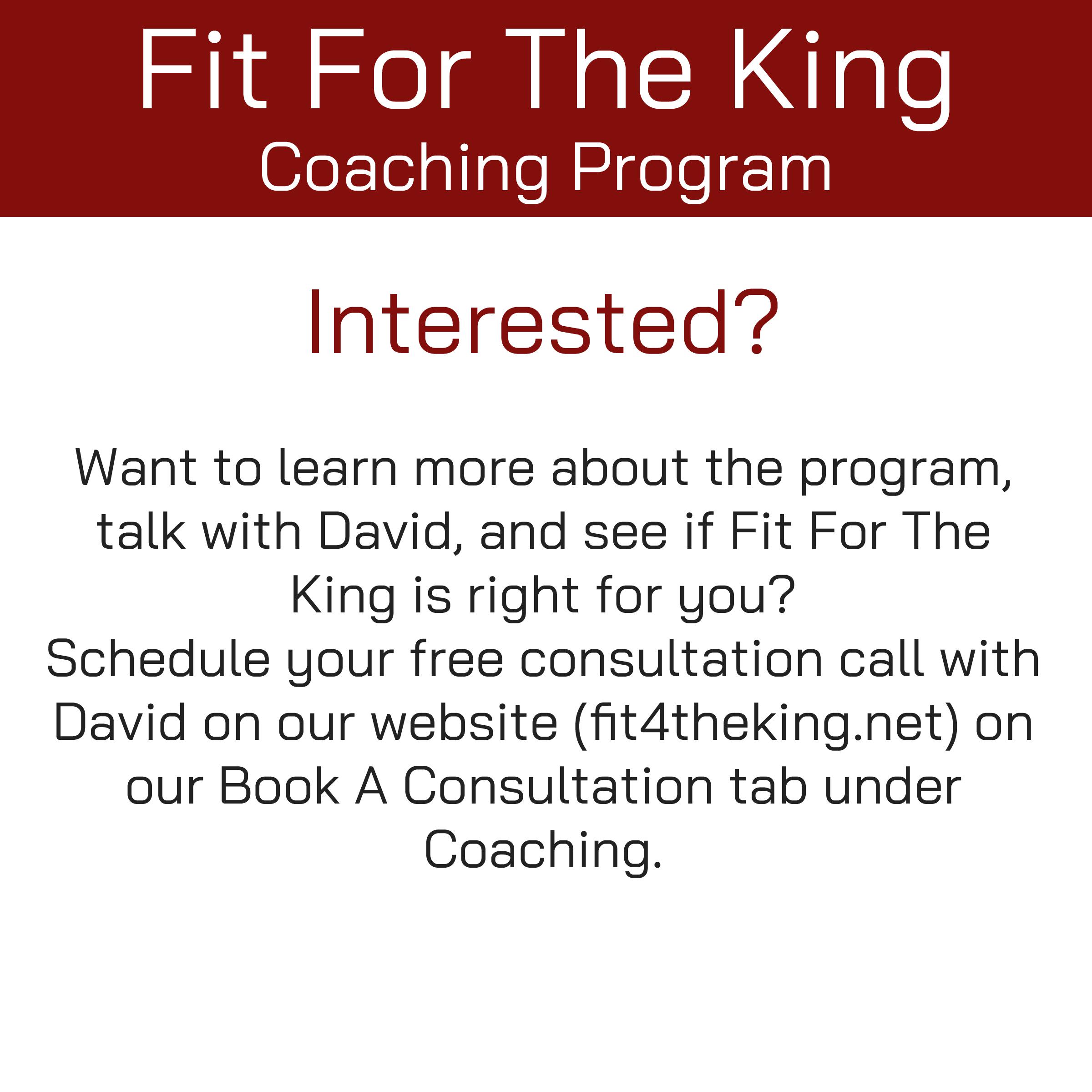 FFTK Coaching Program