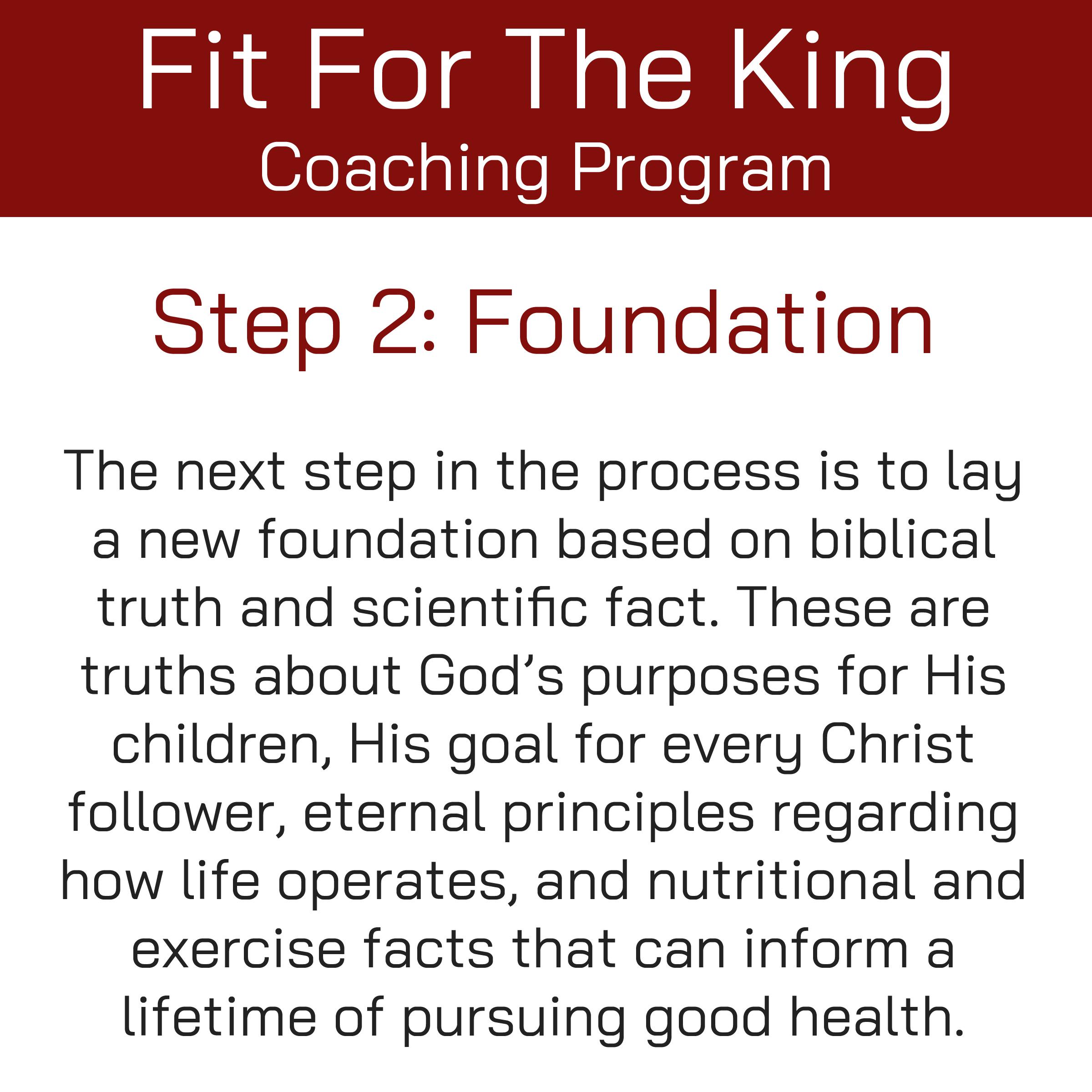 FFTK Coaching Program - Foundation
