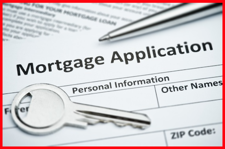 fill out paer docment mortgage application