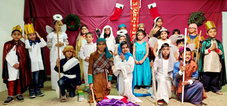 Carol Nativity Scene Juniors