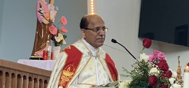 Fr. Jacob Edakalatoor who served our parish as a pastor since 2018 left on June 15, 2019.