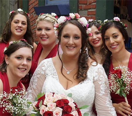 Bride and Bridesmaids, King Richards Faire