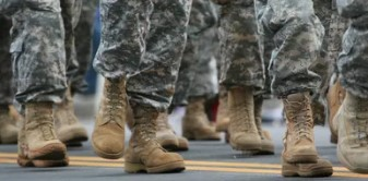 Boots of Soldiers