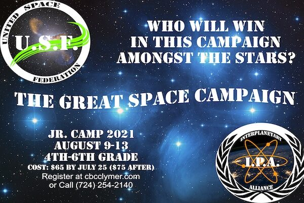 2021 Jr Camp Promo Poster