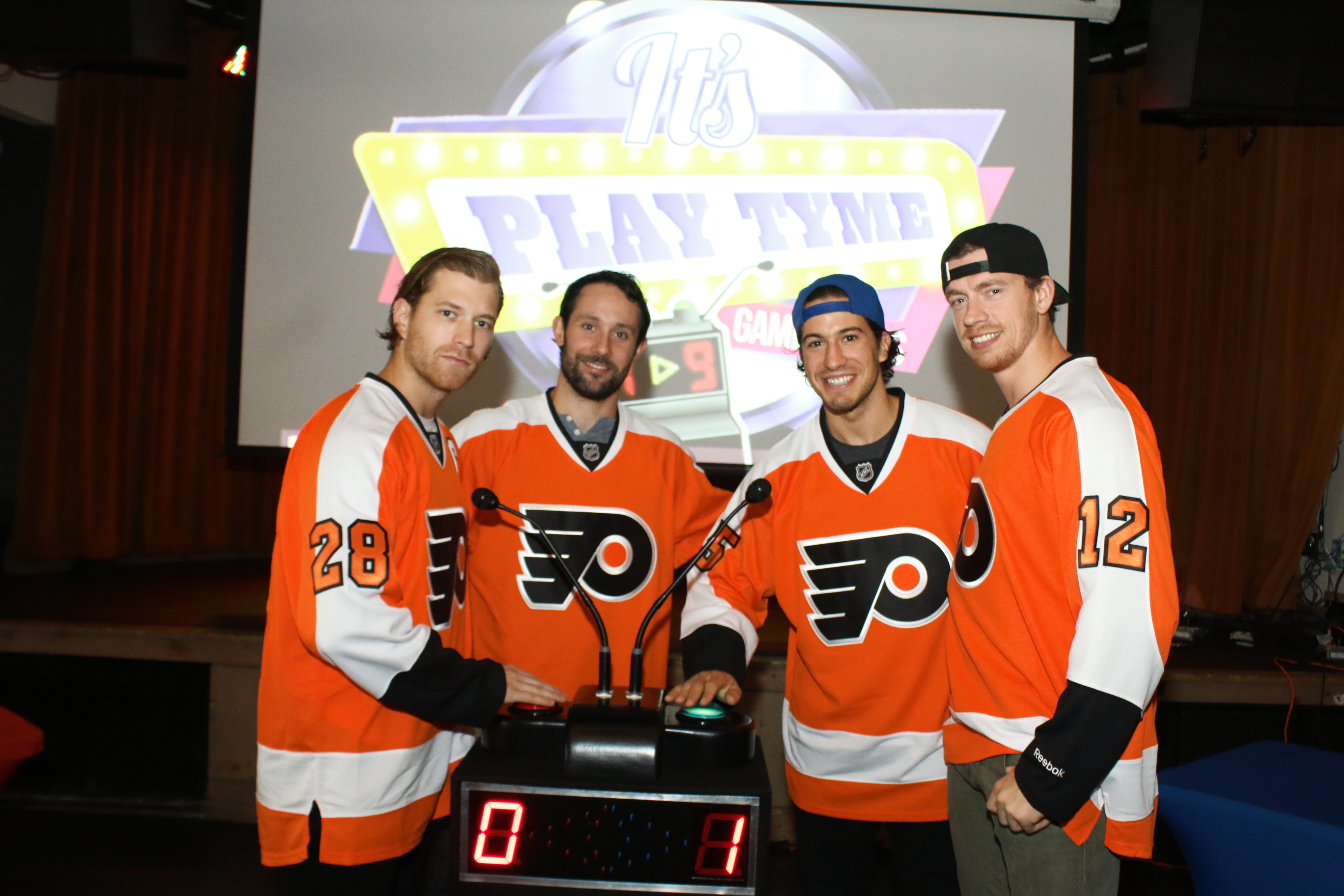 Philly Flyers and a Game Show