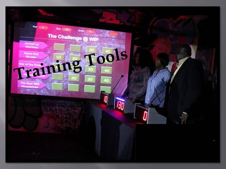 Jeopardy Style Game Shows for Sales Training