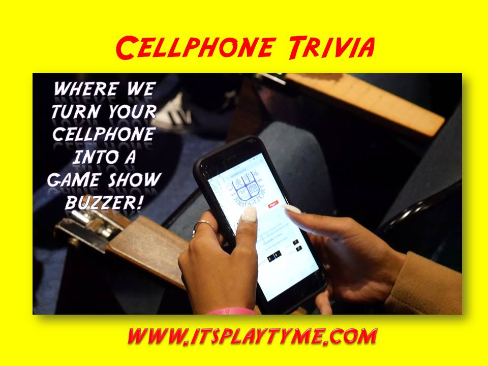 Knowledge base corporate team building - Cellphone Trivia