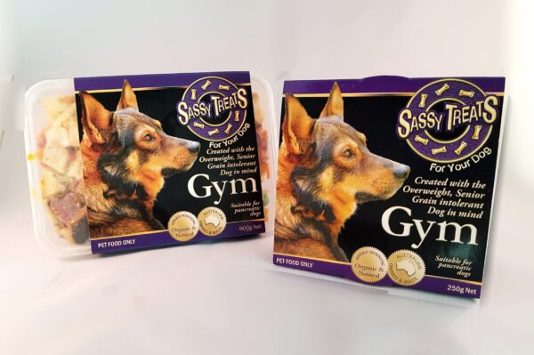 Gym Main Course packaging