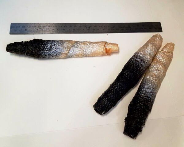 dried Salmon Skins