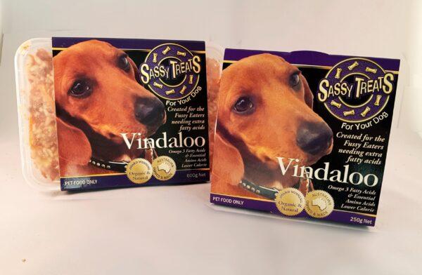Vindaloo  Main Course packaging