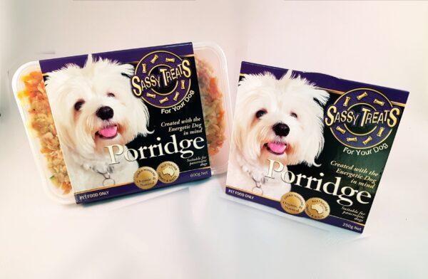 Porridge Main Course packaging