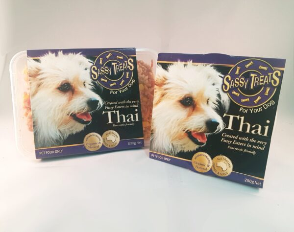 Thai Main Course packaging