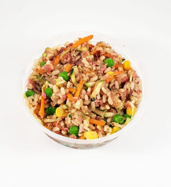 chciken and rice low calorie dogfood