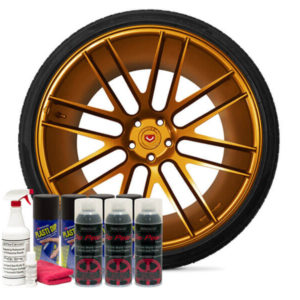 Friction Auto Concepts Burnt Copper Wheel Kit