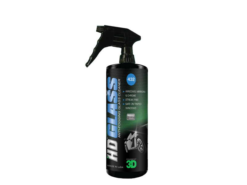 HD Glass Anti-fogging Glass, Mirror And Chrome Cleaner