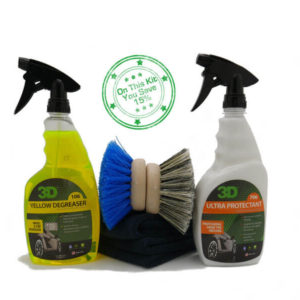 Tire Clean & Dressing Kit