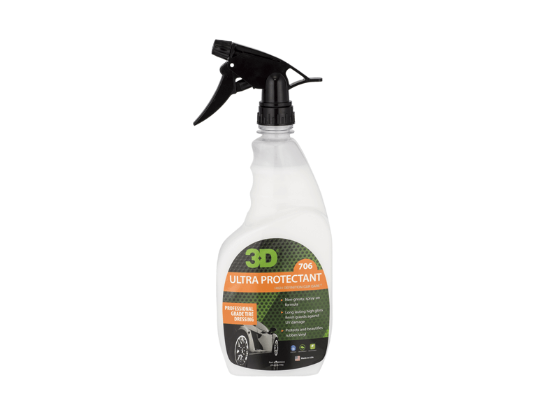 Ultra Protectant Tire Gloss Dressing Spray On